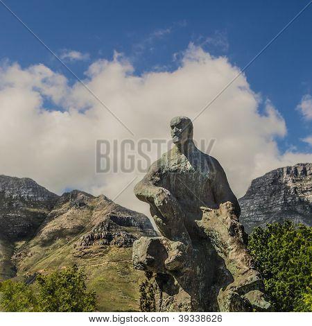 Statue Of Jan Christian Smuts