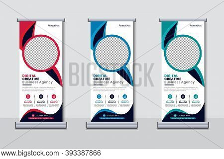 Business Agency Roll Up Banner Set