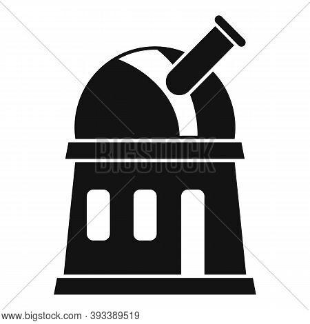 Astronomy Planetarium Icon. Simple Illustration Of Astronomy Planetarium Vector Icon For Web Design