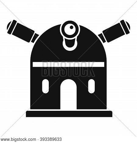 Science Planetarium Icon. Simple Illustration Of Science Planetarium Vector Icon For Web Design Isol