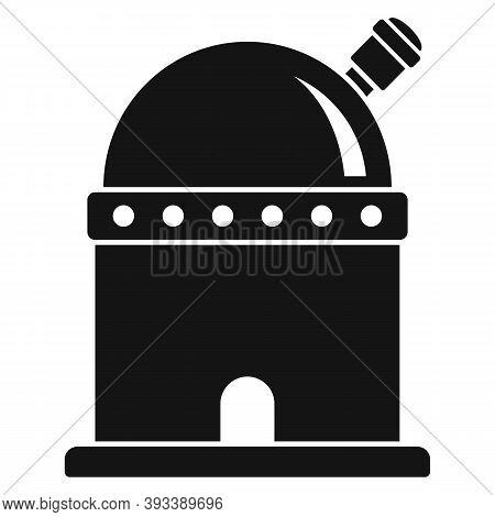 Watching Planetarium Icon. Simple Illustration Of Watching Planetarium Vector Icon For Web Design Is