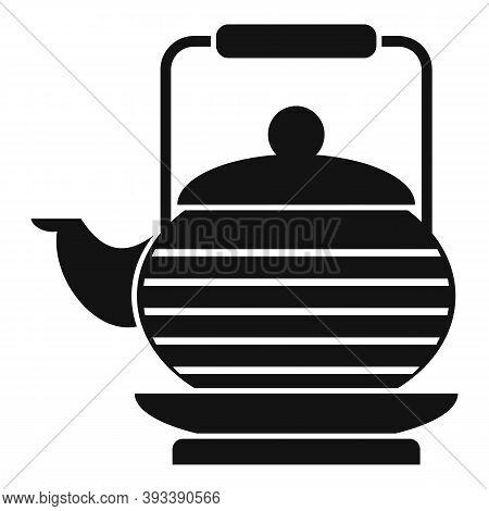 Tea Ceremony Teapot Icon. Simple Illustration Of Tea Ceremony Teapot Vector Icon For Web Design Isol