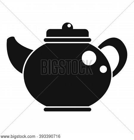 Ceramic Tea Pot Icon. Simple Illustration Of Ceramic Tea Pot Vector Icon For Web Design Isolated On