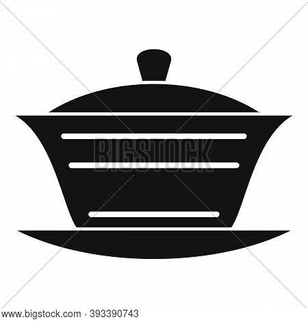 Ceramic Tea Ceremony Icon. Simple Illustration Of Ceramic Tea Ceremony Vector Icon For Web Design Is