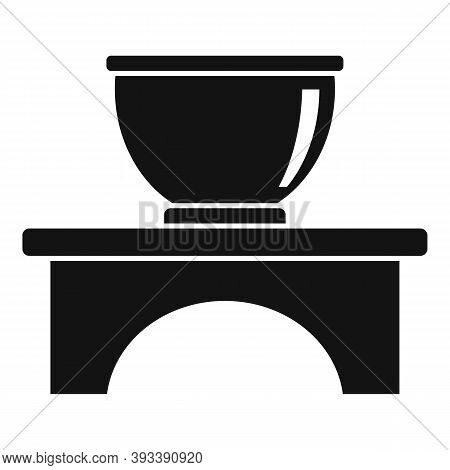 Gourmet Tea Ceremony Icon. Simple Illustration Of Gourmet Tea Ceremony Vector Icon For Web Design Is