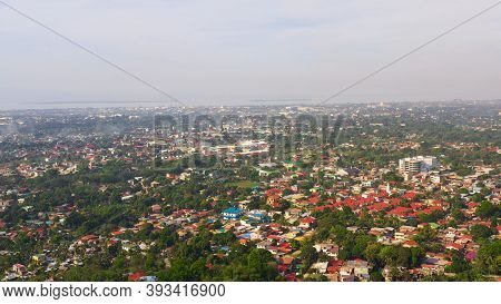 Zamboanga City, Large City And Port, Western Mindanao, Philippines.view From Above Zamboanga.