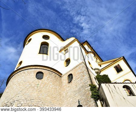 Fussen , Bavaria, Germany , November 03, 2020, Abbey Or St. Mang Abbey Kloster Sankt Mang Is A Forme