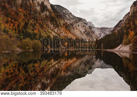 Lake Susicko On The Mountain Durmitor In Northern Montenegro