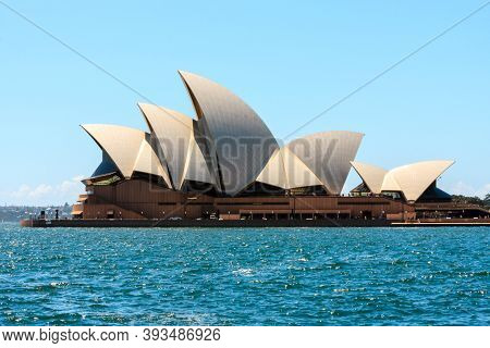Sydney, Australia - January 13, 2009: Sydney Opera House In Sydney Australia