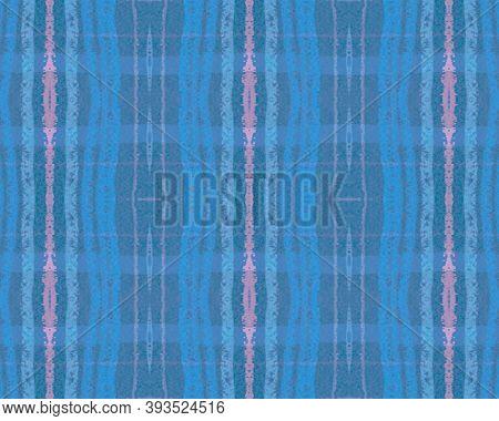 Pink Pastel Check. Seamless Tartan Pattern. Irish Kilt. Fashion Textured Material. Geometric Pastel