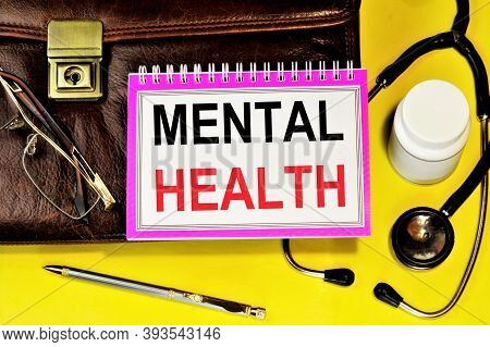 Mental Health. Text Label Of The Diagnosis. Personality Disorder, Negative Schizophrenic Symptoms Ap