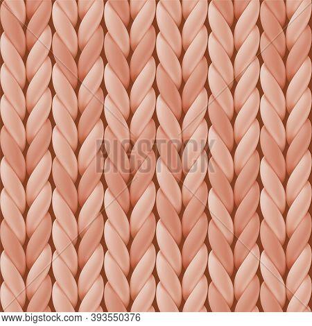 Seamless Pattern With Beige Wool Knit For Website Background, Wallpaper, Card, Webpage Backdrop, Win