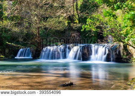 Monte Gelato Waterfalls Province Of Rome Natural Park