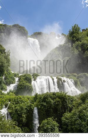 Marmore Waterfall The Highest In Europe Full Of Its Beauty