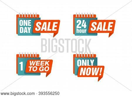 Spesial Limited Offers (one Day Sale, 24 Hour Sale, 1 Week To Go, Only Now) In Loose-leaf Calendar D