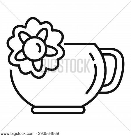 East Tea Ceremony Icon. Outline East Tea Ceremony Vector Icon For Web Design Isolated On White Backg