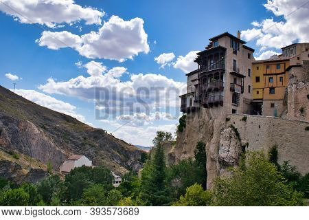 The Famous Hanging Houses Of The City Of Cuenca
