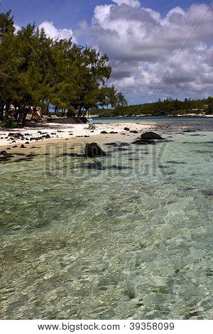 Beach Rocks And Stones In Deus Cocos