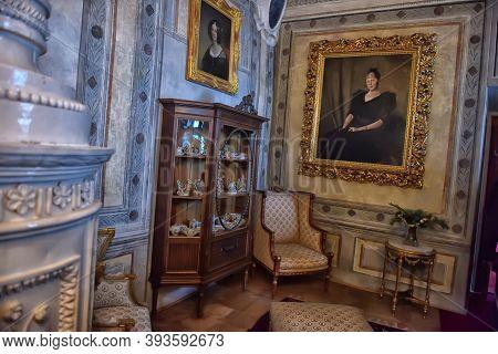 Czech Republic, Czech Sternberg, 07,01,2016  Interior From The Castle Museum Czech Sternberg