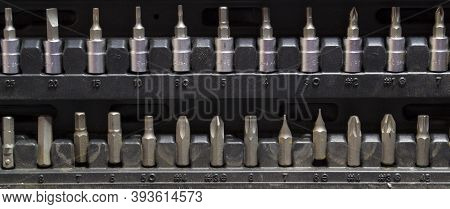 Metal Screw Drives For Used With Mating Tool To Turn A Screw
