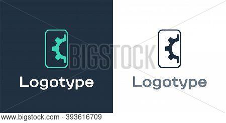 Logotype Software, Web Development, Programming Concept Icon Isolated On White Background. Programmi