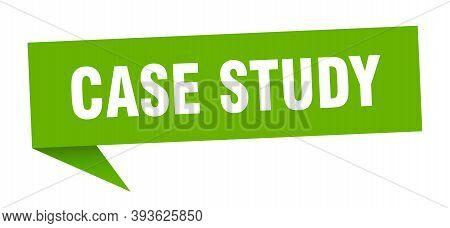 Case Study Speech Bubble. Case Study Sign. Case Study Banner