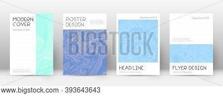Abstract Cover. Tempting Design Template. Suminagashi Marble Minimal Poster. Tempting Trendy Abstrac