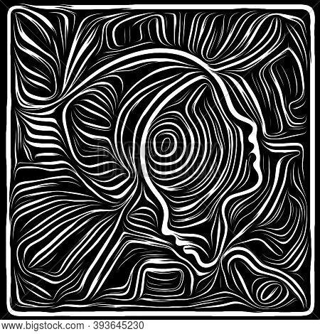 Metaphorical Woodcut Design