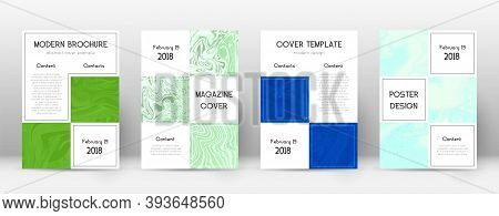 Abstract Cover. Incredible Design Template. Suminagashi Marble Business Poster. Incredible Trendy Ab