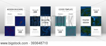 Abstract Cover. Popular Design Template. Suminagashi Marble Business Poster. Popular Trendy Abstract