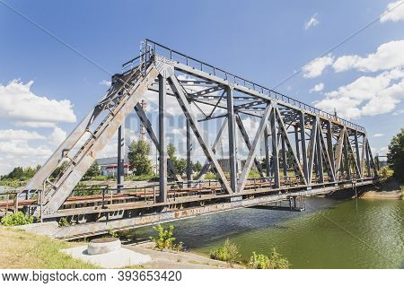 Bridge Over The Cooling Channel In Chernobyl
