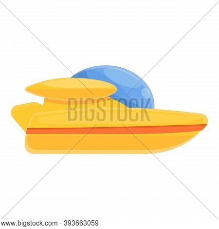Apparatus Bathyscaphe Icon. Cartoon Of Apparatus Bathyscaphe Vector Icon For Web Design Isolated On