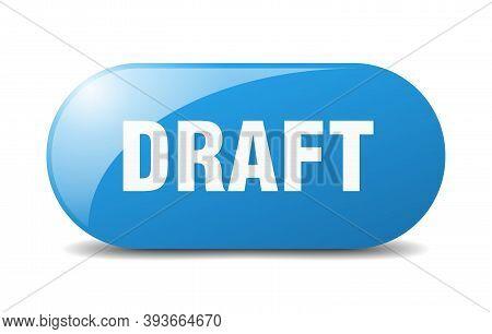 Draft Button. Draft Sign. Key. Push Button.