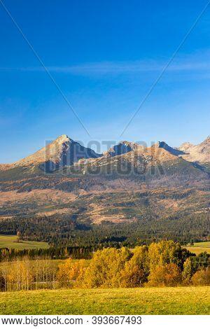 High Tatras in autumn time, Slovakia