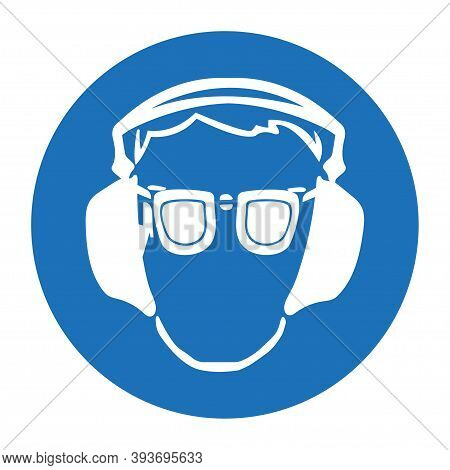 Occupational Health. Icon In Flat Style. Mandatory Means And Methods Of Protection In The Workplace.