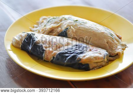 Steamed Fish, Steamed Fish In Curry Mousse Or Teamed Mince Fish