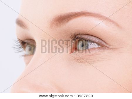 Close-Up Of Woman\\\'S Eyes