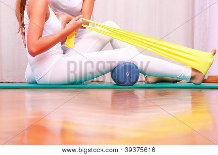 Exercises With Elastic Strengthening Tibial Tarsal