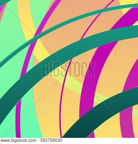 Background Of Intersecting Stripes Of Different Thickness