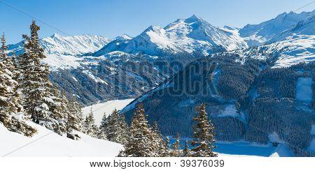 Ski resort. Austria
