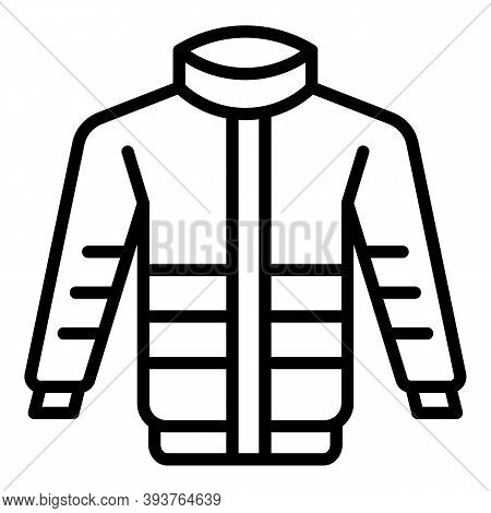 Sew Jacket Icon. Outline Sew Jacket Vector Icon For Web Design Isolated On White Background