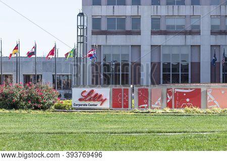 Indianapolis - Circa November 2020: Eli Lilly And Company World Headquarters. Lilly Makes Medicines