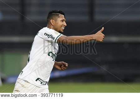 Rio, Brazil - November 08, 2020: Rony Player In Match Between Vasco And Palmeiras By Brazilian Champ