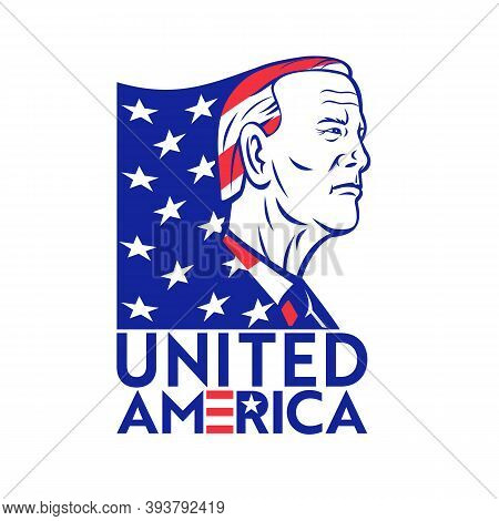 Nov 9, 2020, Auckland, New Zealand: Illustration Of American Democrat And 46th President Elect Josep