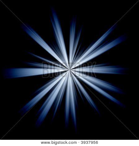 Irregular Blue Star