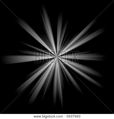 Irregular Silver Star