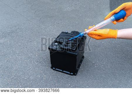 The Aerometer Measures The Density Of The Electrolyte In The Battery, Diagnostics And Repair Of The