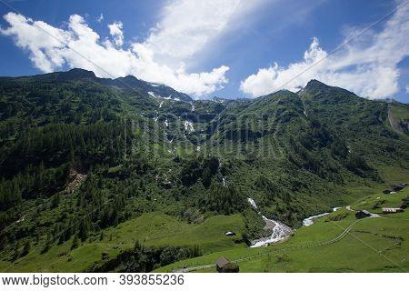 Alpine Pass Susten (sustenpass) In The Summer