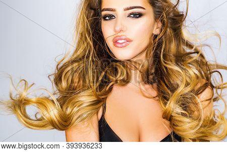 Sensual Woman In Fashion Bra. Beautiful Girl. Female Beautiful Breast. Beauty Girl Shows Her Gorgeou