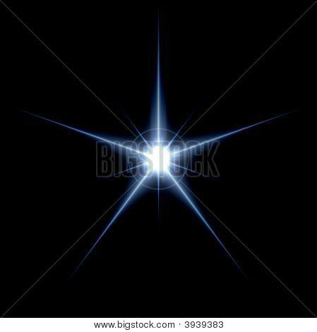 Regular Blue Star